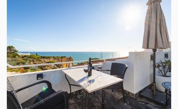 Dachterrasse mit fantastischen Meerblick/ Roof terrace with fantastic sea view