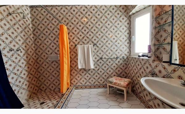 Bad mit Dusche / Bath with shower