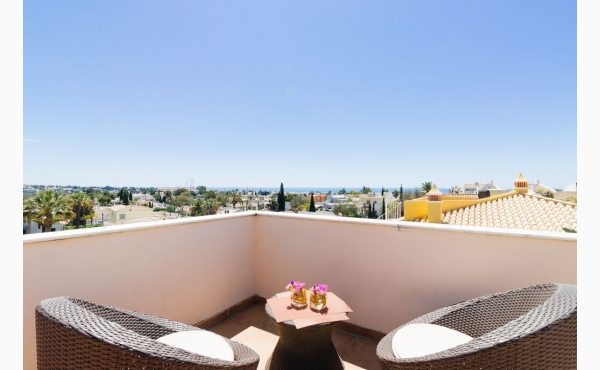 Meeresblick Dachterrasse / Seaview roof terrace