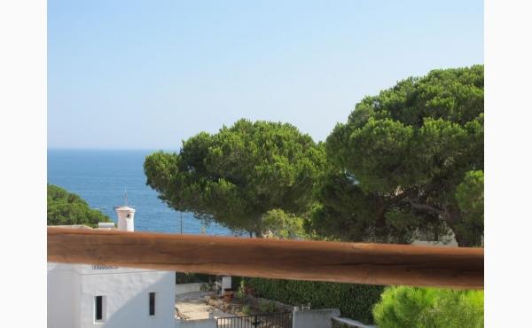 Terrasse mit fatstischen Meerblick / Terrace with fatastic Seaview